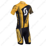 2013 Team SCOTT Cycling Kit Yellow Black