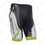 2013 Team SCOTT Cycling Shorts Green