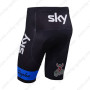 2013 Team SKY Pro Bike Shorts Black