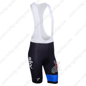 2013 Team SKY Pro Cycling Bib Shorts Black