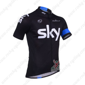 2013 Team SKY Pro Cycling Short Jersey Black