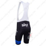 2013 Team SKY Pro Riding Bib Shorts Black