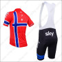 2013 Team SKY Riding Bib Kit Red