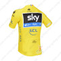 2013 Team SKY rapha Pro Bike Yellow Jersey