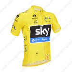2013 Team SKY rapha Pro Cycling Yellow Jersey