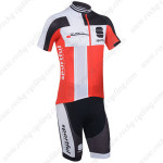2013 Team SPORTFUL Cycling Kit Black Red