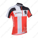 2013 Team SPORTFUL Cycling Short Jersey Black Red