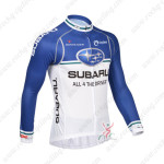 2013 Team SUBARU Cycling Long Jersey Blue White