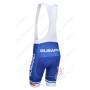 2013 Team SUBARU Pro Cycle Bib Shorts Blue