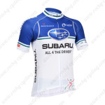 2013 Team SUBARU Pro Cycling Jersey Blue White