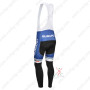 2013 Team SUBARU Riding Long Bib Pants Blue White