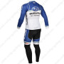 2013 Team SUBARU Riding Long Kit Blue White