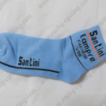 2013 Team Santini Cycling Socks Blue