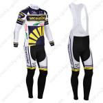2013 Team Vacansoleil Cycling Long Bib Kit