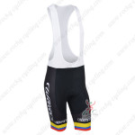 2013 Team colombia Pro Cycle Bib Shorts