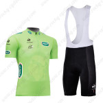 2013 Tour de France Cycling Green Jersey Bib Kit