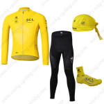 2013 Tour de France Cycling Long Suit+Gears Yellow