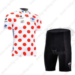 2013 Tour de France Cycling Polka Dot Jersey Kit
