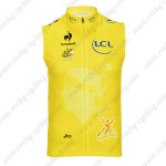 2013 Tour de France Cycling Sleeveless Jersey Yellow