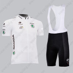 2013 Tour de France Cycling White Jersey Bib Kit