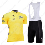2013 Tour de France Cycling Yellow Jersey Bib Kit