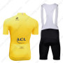 2013 Tour de France Riding Yellow Jersey Bib Kit