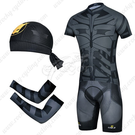 8bcd39bed 2014 Batman Pro Cycle Apparel Set Riding Jersey and Padded Shorts+ ...