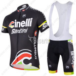 2014 Cinelli Santini Cycling Bib Kit