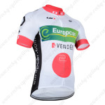 2014 Europcar Pro Cycling Jersey White Red