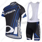 2014 ORBEA Cycling Bib Kit Black Blue