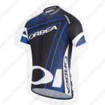 2014 ORBEA Cycling Jersey Black Blue