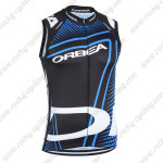 2014 ORBEA Cycling Vest Sleeveless Jersey Black Blue