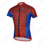 2014 Spider Man Cycling Jersey Red Blue