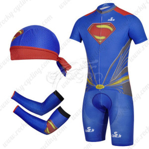 2014 Superman Cycling Suit+Gears