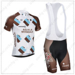 2014 Team AG2R LA MONDIALE Cycling Bib Kit