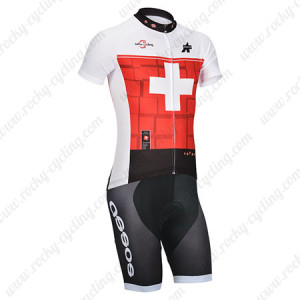 2014 Team ASSOS Cycling Kit Red