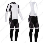 2014 Team ASSOS Cycling Long Bib Kit White