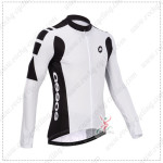 2014 Team ASSOS Cycling Long Jersey White