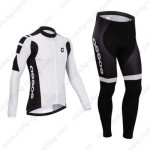 2014 Team ASSOS Cycling Long Kit White