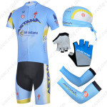 2014 Team ASTANA Cycling Set Blue