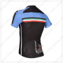 2014 Team BIANCHI Bike Jersey Black Blue