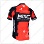 2014 Team BMC Bike Jersey Red Black