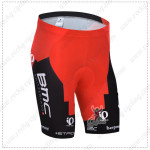 2014 Team BMC Cycling Shorts Red Black