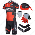 2014 Team BMC Pro Cycling Set Red Black