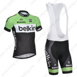 2014 Team Belkin Cycling Bib Kit