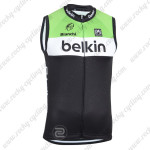 2014 Team Belkin Cycling Vest Sleeveless Jersey