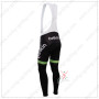 2014 Team Belkin Riding Long Bib Pants Green Black