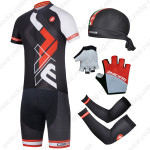 2014 Team CASTELLI Cycling Set Black