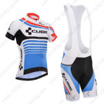 2014 Team CUBE Cycling Bib Shorts Blue
