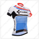2014 Team CUBE Cycling Jersey Blue